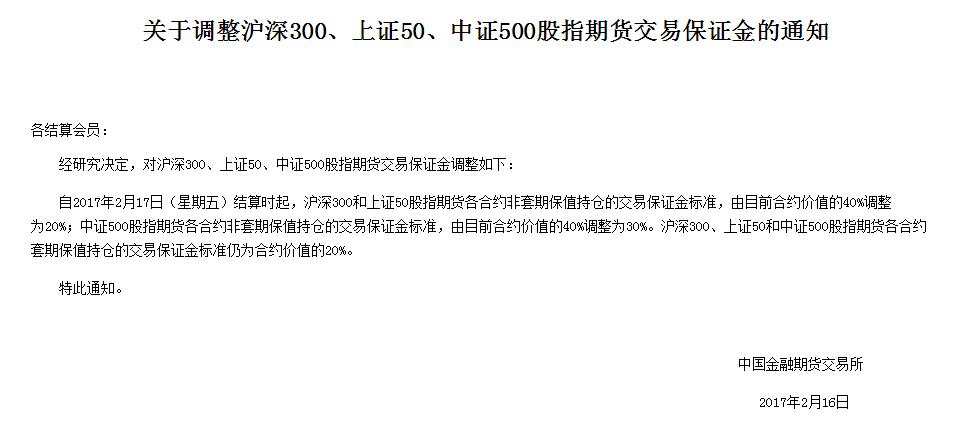 沪深300股指期货合约的交易保证金如何确定?